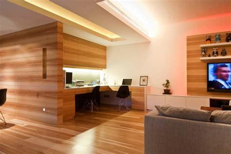 examples  creative wooden office interior design