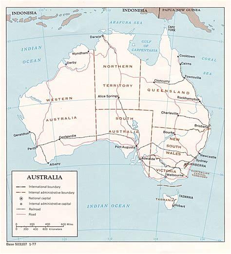 Australia Map - Australia • mappery