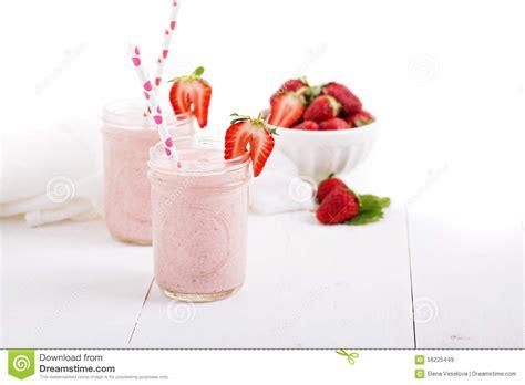 Strawberry Milkshake Royalty-free Stock Photography