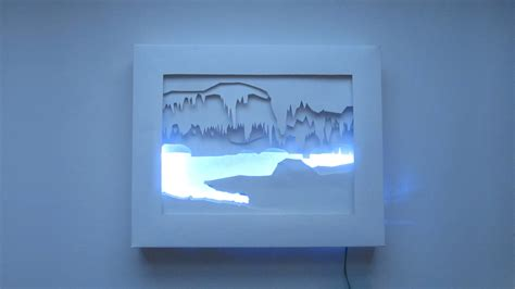 how to make a light box for pictures 3d silhouette light box make