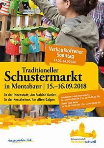 Verkaufsoffener Sonntag Montabaur : schustermarkt stadt montabaur ~ A.2002-acura-tl-radio.info Haus und Dekorationen