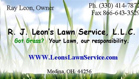 leons lawn service llc home