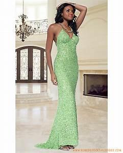 belle robe de soiree longue de luxe avec cristal en col v With robe de soirée de luxe