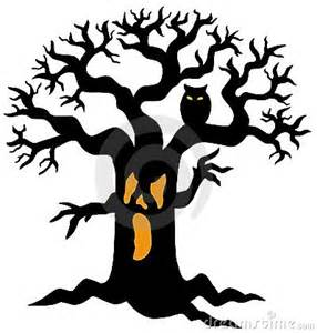 Headless Horseman Pumpkin Carving by Spooky Tree Silhouette Stock Photography Image 10086082