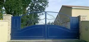 Portail 3 Metres : portail 4 metres 2 vantaux ~ Premium-room.com Idées de Décoration