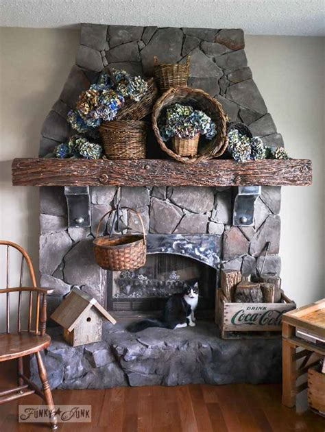 creating   world cultured stone fireplace