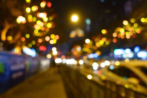 images light bokeh street night color darkness