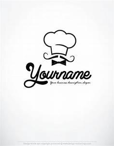 Exclusive Design: funny chef designed logo + Compatible ...