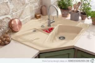 kitchen backsplash designs 15 cool corner kitchen sink designs home design lover