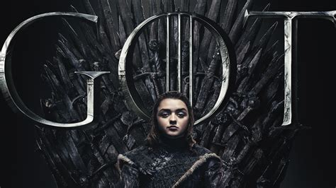 arya stark game thrones season poster hd tv shows