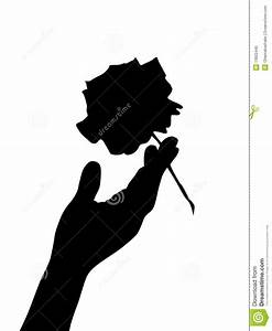 Hand Silhouette Stock Photo - Image: 13922440