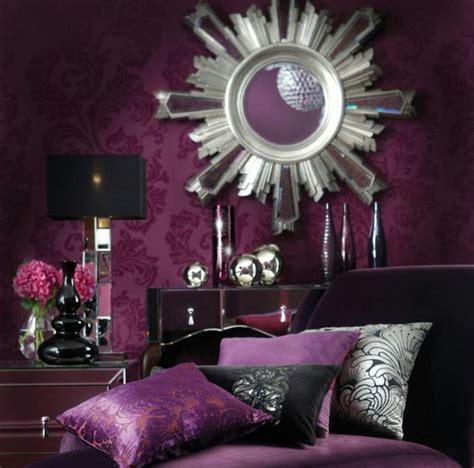 decoration chambre baroque chambre baroque violet noir décoration chambre