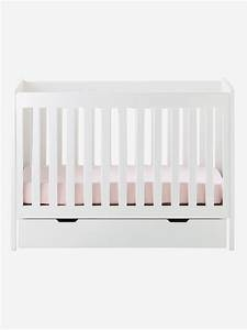 Lit Bébé Avec Tiroir : lit bebe avec rangement maison design ~ Melissatoandfro.com Idées de Décoration