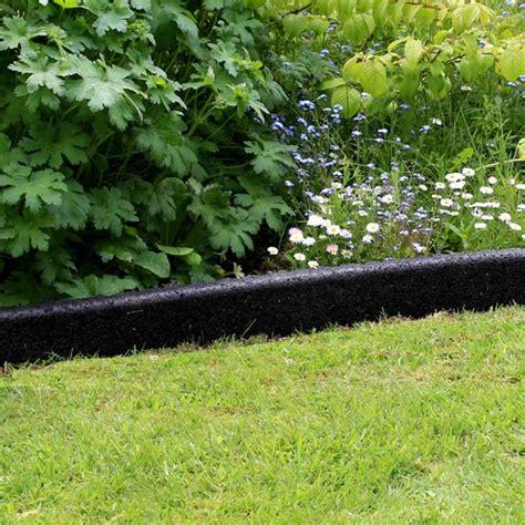 buy black crumb rubber garden edging   prices