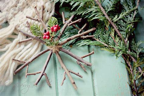 diy snowflakes  traditional winter decoration