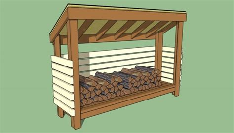 9 Free Firewood Storage Shed Plans  Free Garden Plans