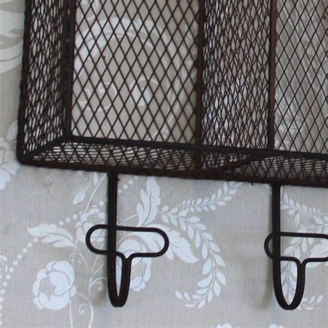 Wire Wall Shelf by Shabby Chic Furniture Style Home Accessories