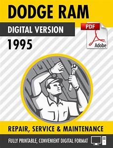 1995 Dodge Ram Truck 1500 2500 3500 Factory Repair Service