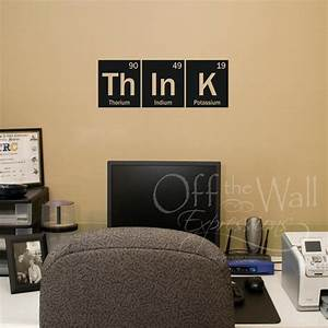 think wall decal periodic table decal elements vinyl With awesome science wall decals
