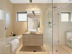 30 modern bathroom design ideas for your private heaven With carrelage adhesif salle de bain avec led panel light