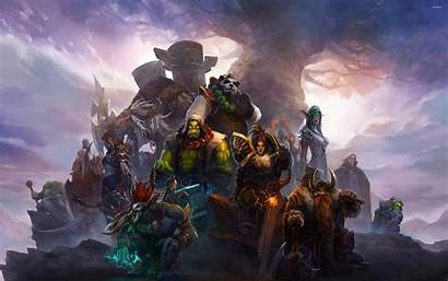 Warcraft Wallpapers Warriors Wow Warrior Samurai Paladin
