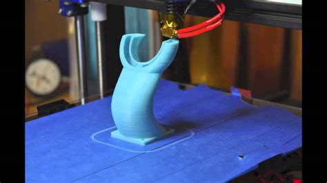 mendelmax   printed fan duct time lapse youtube