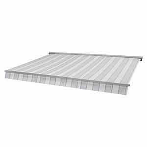 Markise 2 50m Breit : sunfun designh lsenmarkise grau wei breite 4 m ausfall 2 5 m bauhaus ~ Buech-reservation.com Haus und Dekorationen