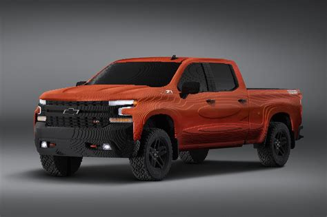 Check Out This Life Size Lego Chevy Silverado Made From