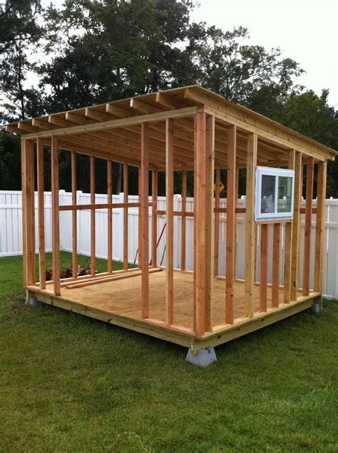 small shed building plans gonna to build myself a big shed for all our h