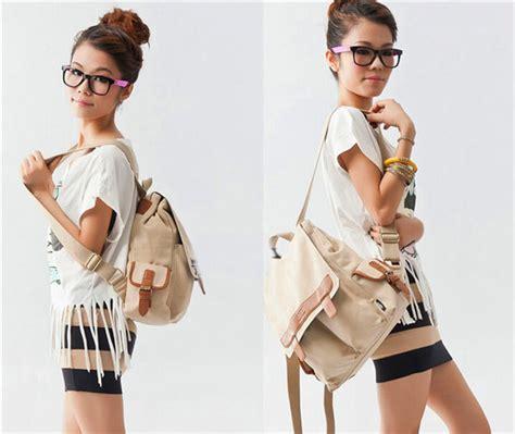 mode femmes filles vintage toile satchel 233 paule 233 cole sac 224 dos sac 224 dos cartables id de