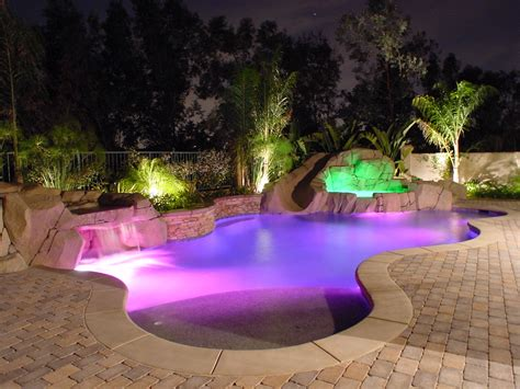 outdoor lighting around pool landscape lighting ideas around pool