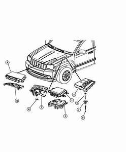 2010 Jeep Commander Module  Powertrain Control  Generic