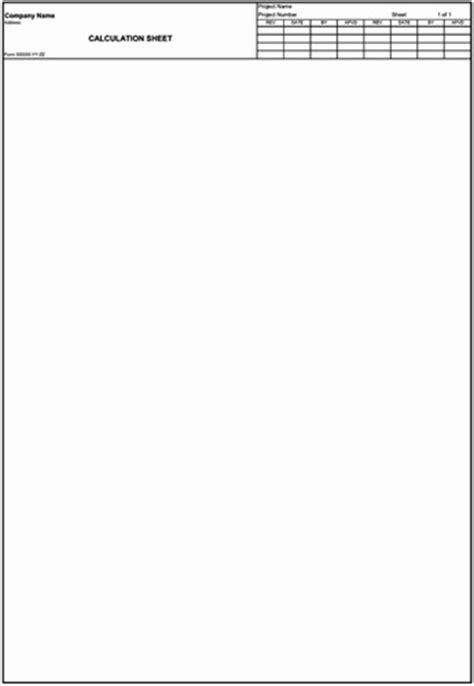 Appendix G: Equipment Specification (Data) Sheets