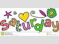 Saturday clipart Pencil and in color saturday clipart