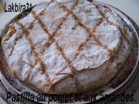 cuisine marocaine pastilla pastilla aux amandes et poulet toute la cuisine que j 39 aime