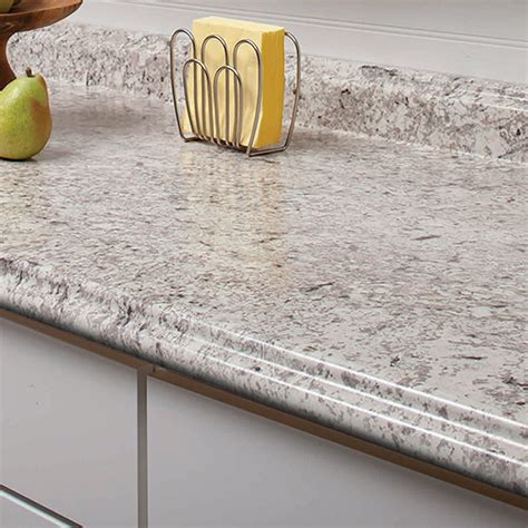 countertops lowes shop vt dimensions formica 4 ft ouro romano etchings