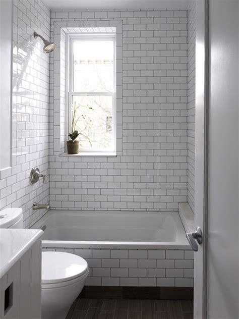 amazing bathrooms  subway tile