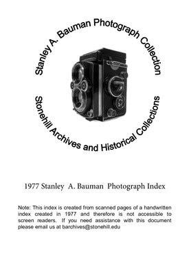 stanley  bauman photograph collection