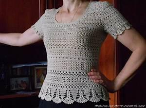 Summer Crochet Blouse   Dress   Diagrams