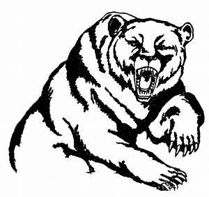 Coloriage Grizzly - Les beaux dessins de Nature à imprimer ...