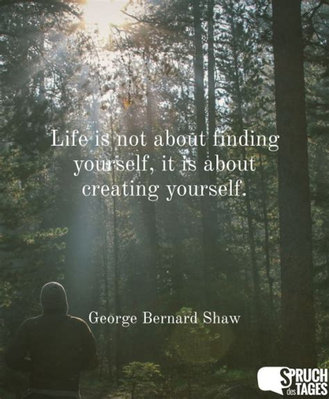 is not about finding yourself it is about creating