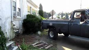 1977 Gmc Sierra Grande K15 350 4bbl Pulling Bush Out Of