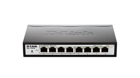 switch 8 ports gigabit easysmart 8 port gigabit switch d link canada