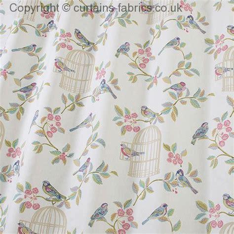 song bird by iliv swatch box in eau de nil curtain fabric