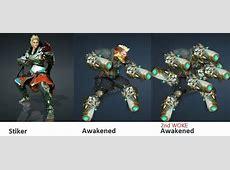 Striker Awakening and 2nd Awakening revealed