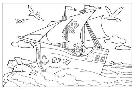 79 Best Piraten Kleurplaten Images On Pinterest