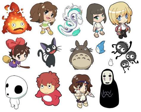 studio ghibli anime art stickers howls moving castle