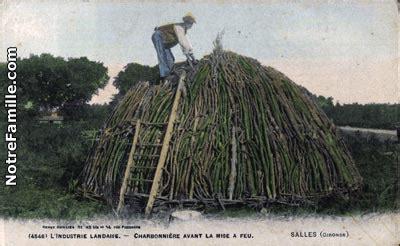 photos et cartes postales anciennes de salles 33770