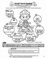 Activities Hand Washing Coloring Hands Secret Pages Clean Symbols Code Words Symbol Lesson Classroom Scrubs Activity Steps Teaching Hidden Sheets sketch template