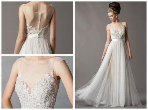 Watters Jacinda / 4061b Size 4 Wedding Dress